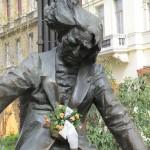 Franz Liszt Büste in Budapest