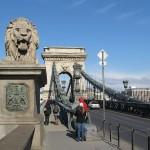 Die Kettenbrücke von Budapest