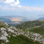 Blick auf den Ohrid See
