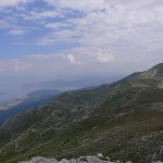 Blick auf den Prespa-See
