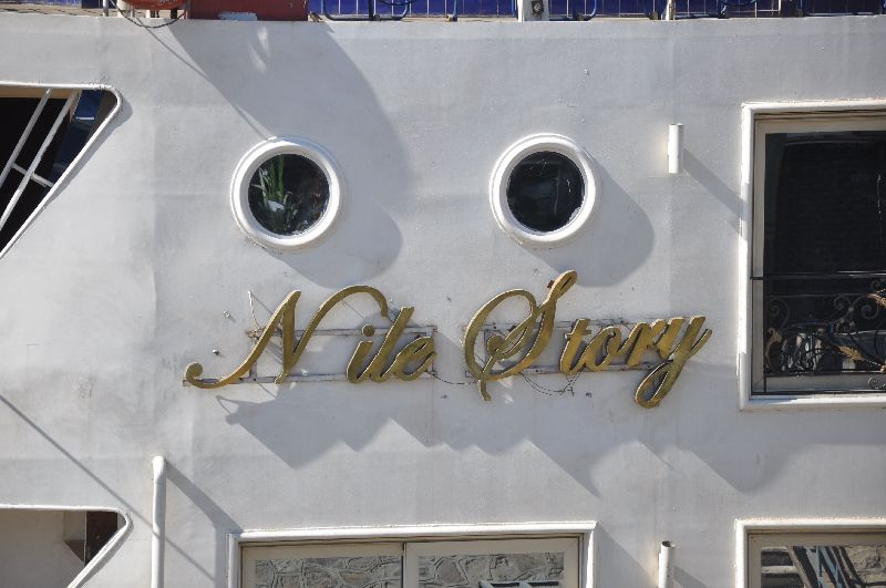 Nile Story Kreuzfahrtschiff in Luxor