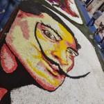 Salvatore Dalí zum Blütenfest in Noto