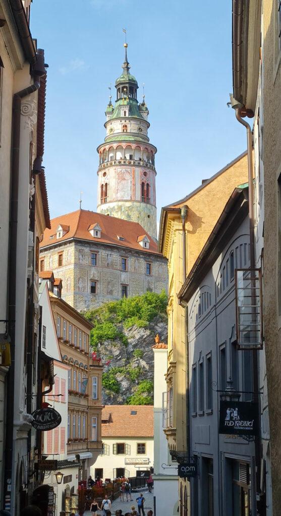 Burgturm von Český Krumlov
